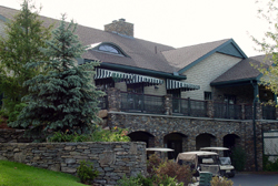 Stone walls and Stone arches at Hopkinton Country Club by New View