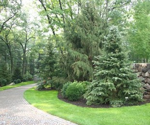 Landscape design, Stonework and Installation by New View of Hopkinton, MA