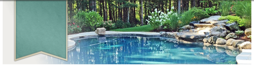 Pool and landscape construction by New View of Hopkinton, MA