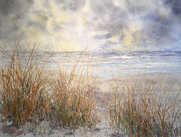 Clearing Skies_Watercolor by Doug DeWolfe of New View