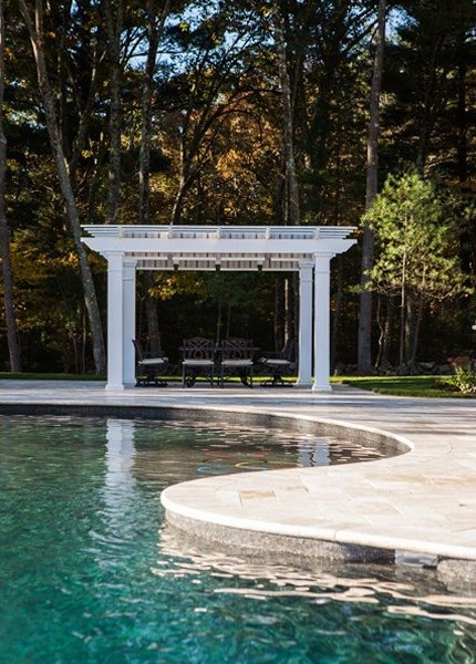 Pool and Arbor Design by New View, Inc.